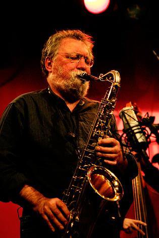 2007-02-12 - Evan Parker performs at Fasching, Stockholm