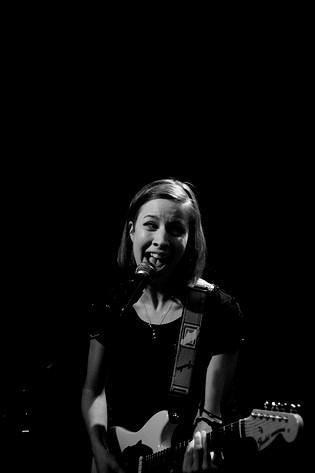 2008-02-29 - Britta Persson spelar på Raw, Eskilstuna