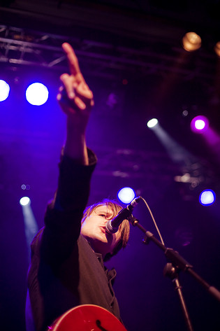 2008-05-17 - Markus Krunegård performs at Debaser Medis, Stockholm