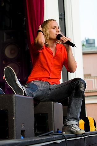 2008-05-30 - BWO performs at Liseberg, Göteborg