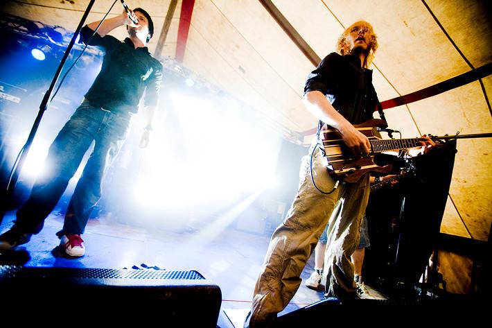 2008-07-17 - Calm Chaos spelar på Trästockfestivalen, Skellefteå