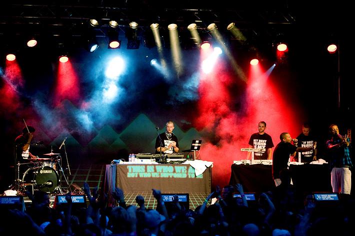 2008-07-25 - Adam Tensta spelar på Piteå Dansar och Ler, Piteå