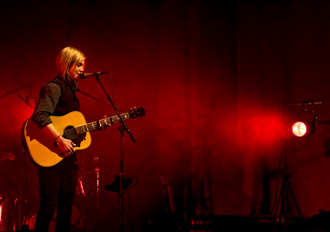 2009-02-06 - Anna Ternheim performs at Konserthuset, Göteborg