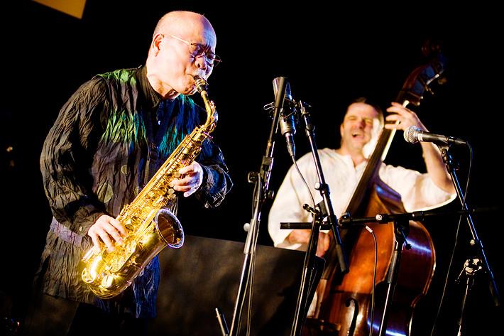 2009-03-07 - Akira Sakata Trio spelar på Culturen, Västerås
