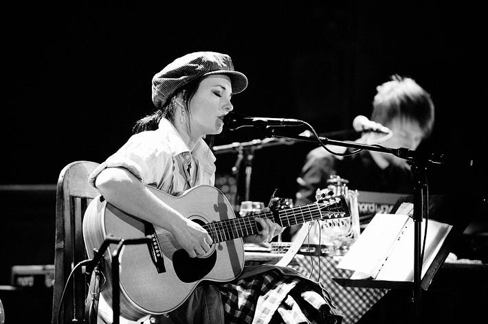 2010-03-17 - Sophie Zelmani spelar på Göta Lejon, Stockholm