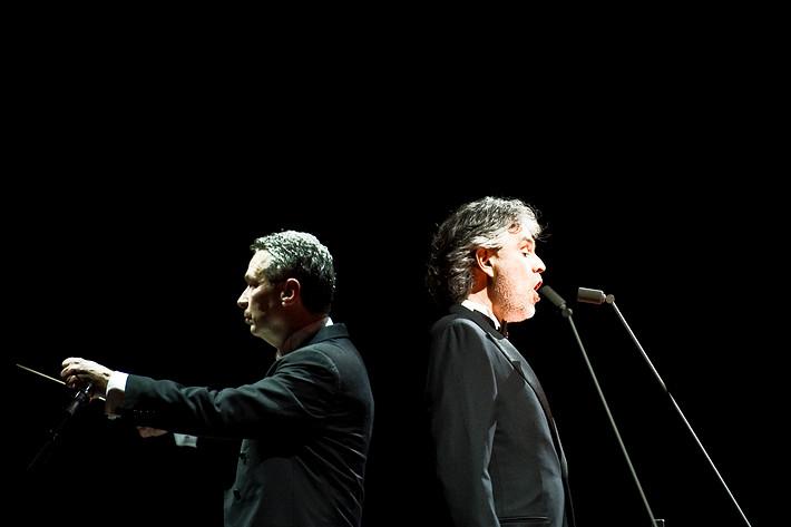 2010-04-11 - Andrea Bocelli spelar på Globen, Stockholm