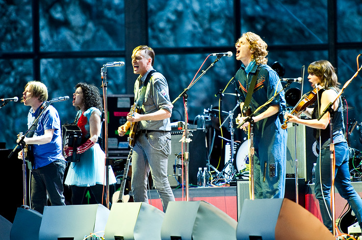 2010-06-30 - Arcade Fire performs at Dalhalla, Rättvik