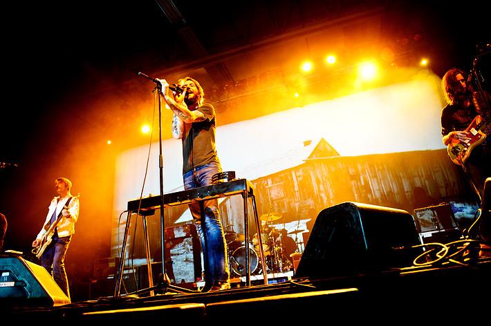 2011-02-21 - Band of Horses spelar på Annexet, Stockholm