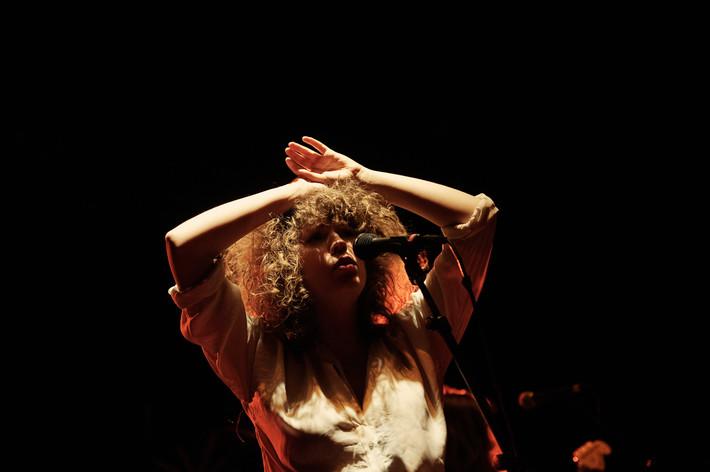2011-03-27 - Those Dancing Days spelar på Cirkus, Stockholm