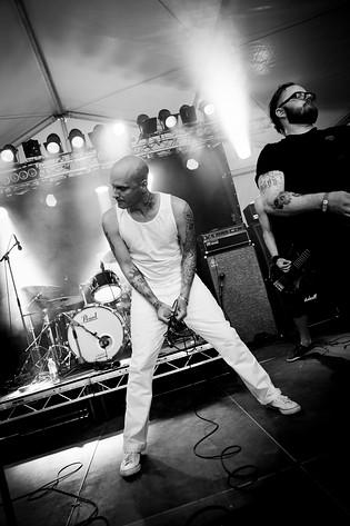 2011-06-16 - Ond Bråd Död spelar på West Coast Riot, Göteborg
