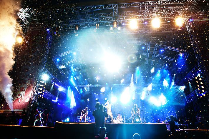 2011-06-30 - The Ark spelar på Peace & Love, Borlänge