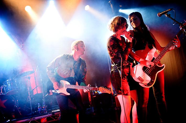 2011-07-02 - The Baboon Show spelar på Peace & Love, Borlänge