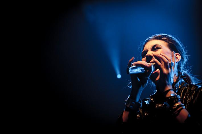 2011-10-28 - Amaranthe spelar på Lisebergshallen, Göteborg