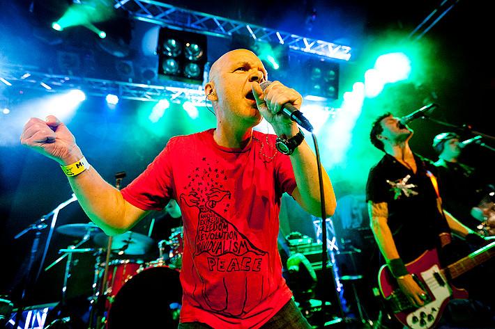 2011-11-04 - Attentat performs at Mortens Krog, Uddevalla