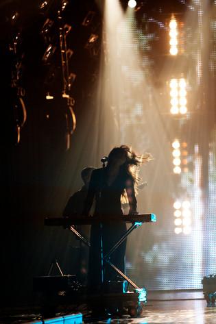 2012-01-21 - P3 Guld performs at Lisebergshallen, Göteborg