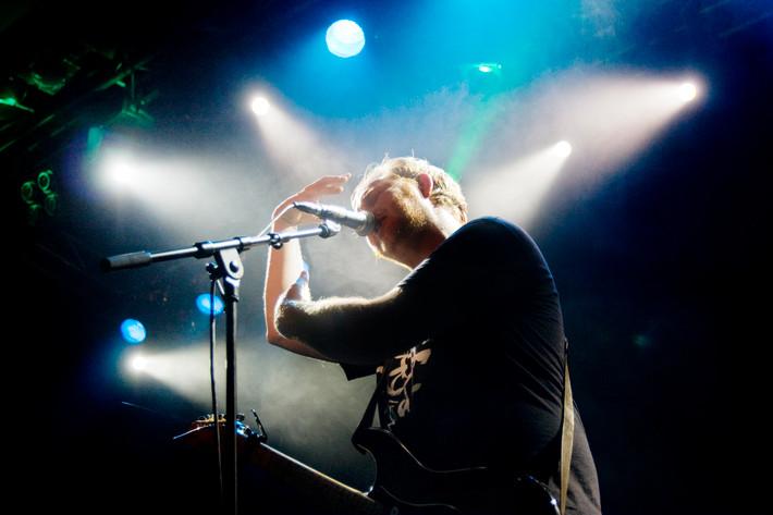 2012-01-28 - Mattias Alkberg performs at Debaser Medis, Stockholm
