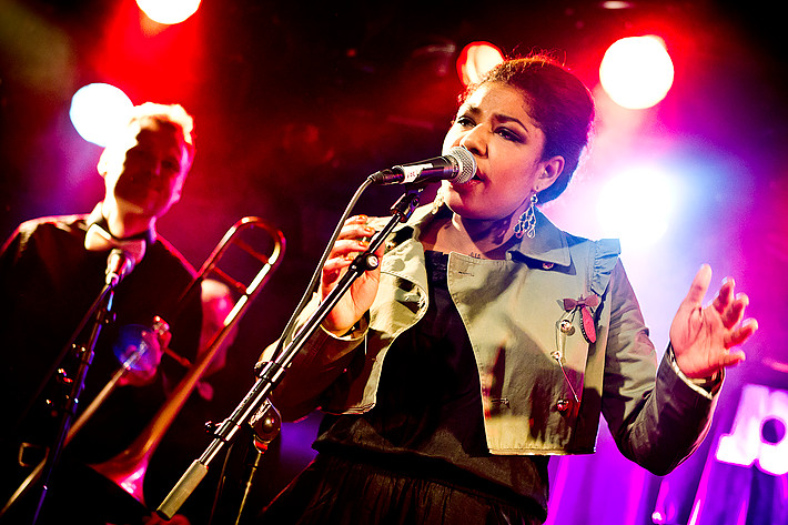 2012-02-16 - Sisi performs at ByLarm, Oslo