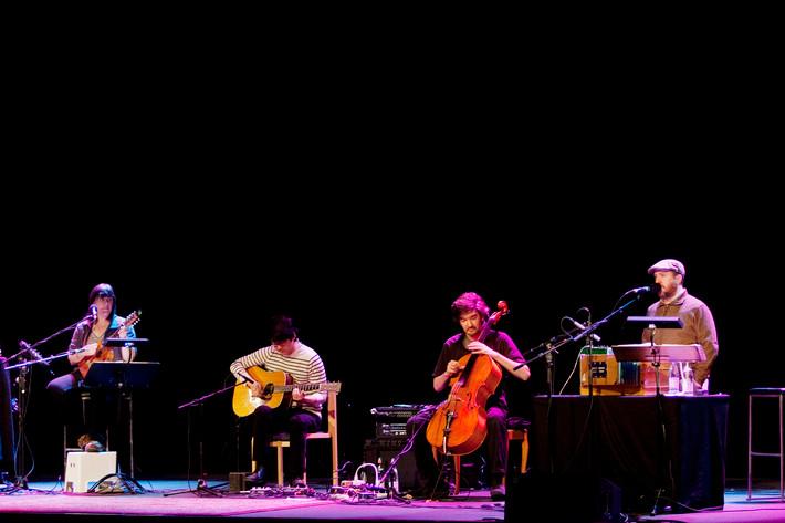 2012-05-12 - The Magnetic Fields spelar på Filadelfiakyrkan, Stockholm