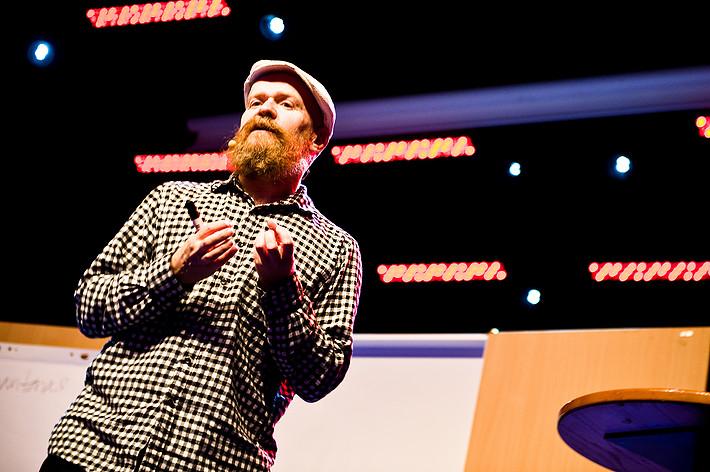 2012-06-29 - Alexander Bard spelar på Peace & Love, Borlänge