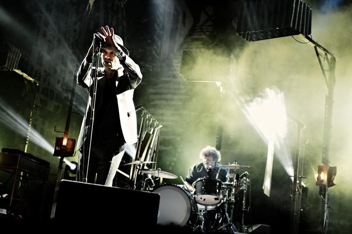2012-07-27 - Thåström performs at Storsjöyran, Östersund