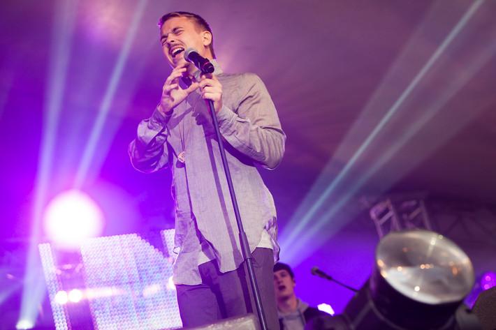 2012-08-24 - Albin Gromer performs at Malmöfestivalen, Malmö