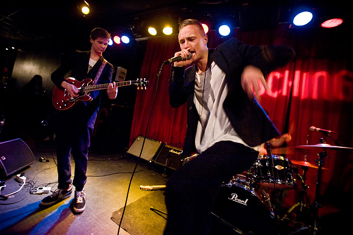 2013-01-18 - Alfons X performs at Fasching, Stockholm