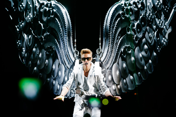 2013-04-22 - Justin Bieber performs at Globen, Stockholm
