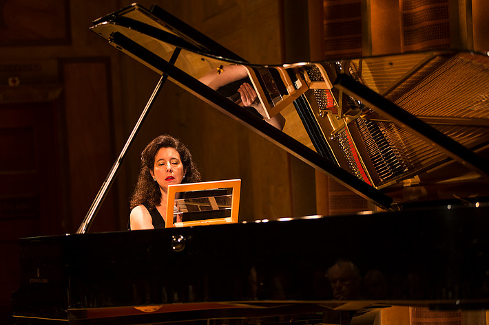 2013-06-17 - Angela Hewitt, Michael Collins, Hugo Ticciati, Torleif Théeden spelar på Konserthuset, Stockholm