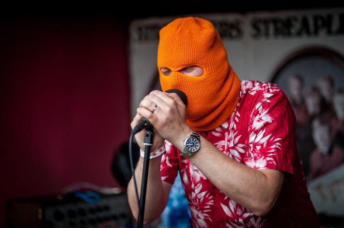2013-08-17 - Atomic playboy feat. Infiltrator performs at Kalabalik på Tyrolen, Alvesta