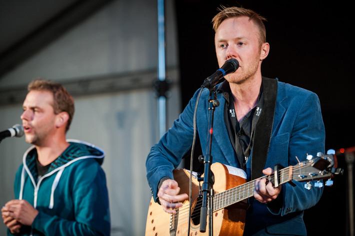 2013-08-31 - Axel Sondén & flyttfåglarna spelar på Växjö Visfestival, Växjö