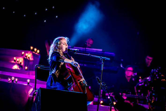 2013-08-31 - Linnea Olsson performs at Dalhalla, Rättvik