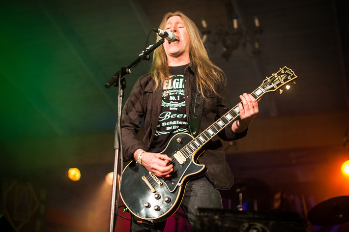 2014-05-31 - Angel Witch performs at Muskelrock, Alvesta