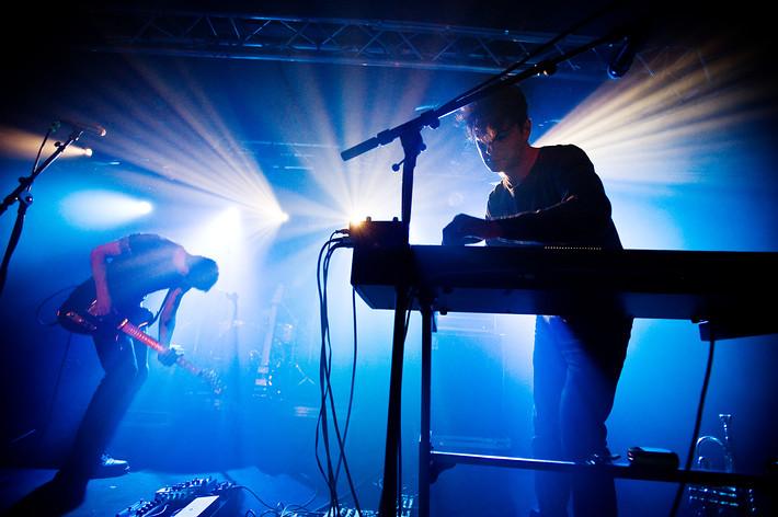 2014-10-09 - The Antlers performs at Debaser Hornstulls Strand, Stockholm
