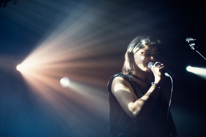 2015-03-10 - Soko performs at Debaser Hornstulls Strand, Stockholm