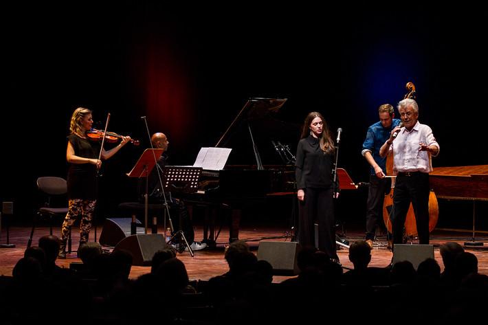 2015-05-22 - Möte i Monsunen: En hyllning till Evert Taube performs at Berwaldhallen , Stockholm