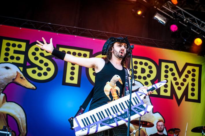 2015-06-05 - Alestorm performs at Sweden Rock Festival, Sölvesborg