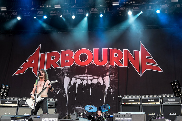 2015-06-13 - Airbourne performs at Greenfield Festival, Interlaken