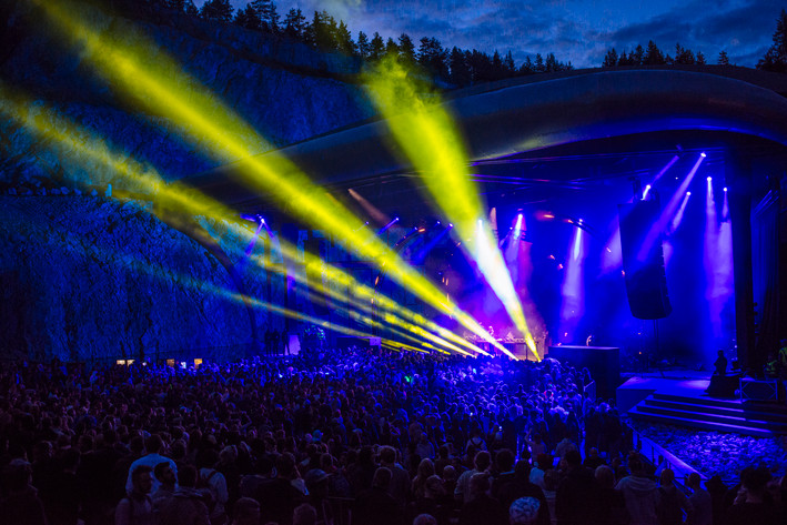 2015-07-31 - Adam Beyer & Ida Engberg performs at Into the valley, Rättvik