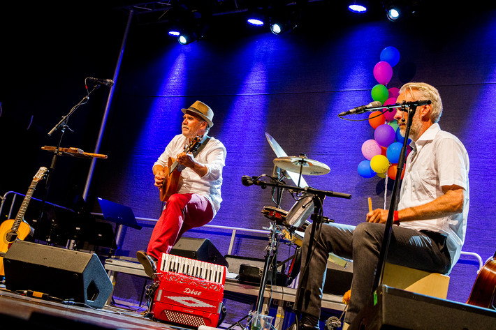 2015-08-07 - Ale Möller Trio & Eric Bibb spelar på Stockholm Folk Festival, Stockholm