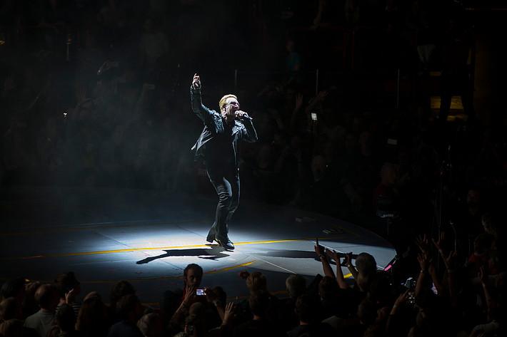 2015-09-16 - U2 spelar på Globen, Stockholm