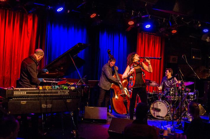 2016-03-16 - Anat Cohen Quartet spelar på Fasching, Stockholm