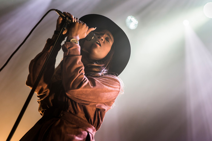 2016-04-07 - Sabina Ddumba performs at Umeå Open, Umeå