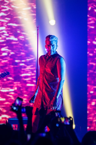 2016-04-23 - Adam Lambert performs at Fryshuset, Stockholm