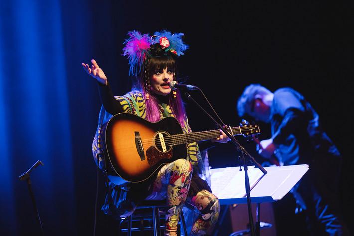 2016-04-24 - Nina Hagen spelar på Cirkus, Stockholm