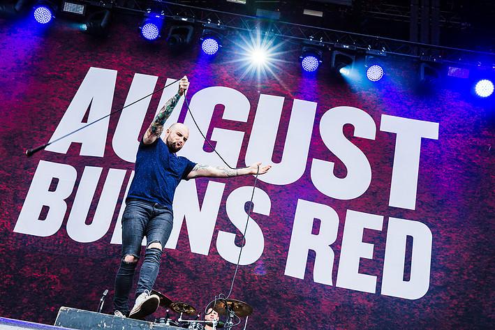 2016-06-30 - August Burns Red spelar på Bråvalla, Norrköping