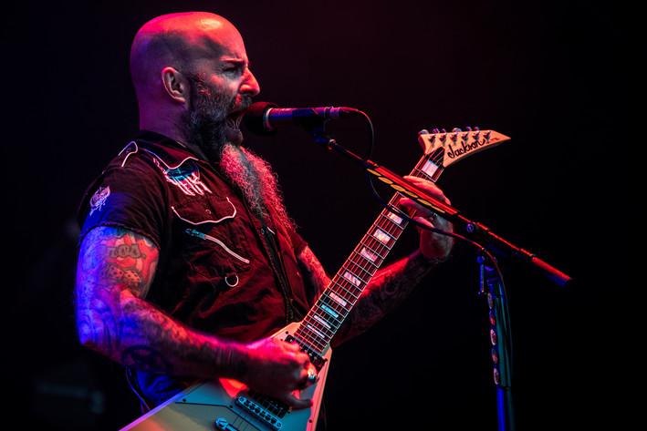 2016-07-15 - Anthrax spelar på Gefle Metal Festival, Gävle