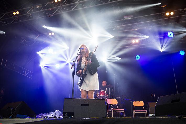 2016-07-29 - Ellen Sundberg performs at Storsjöyran, Östersund