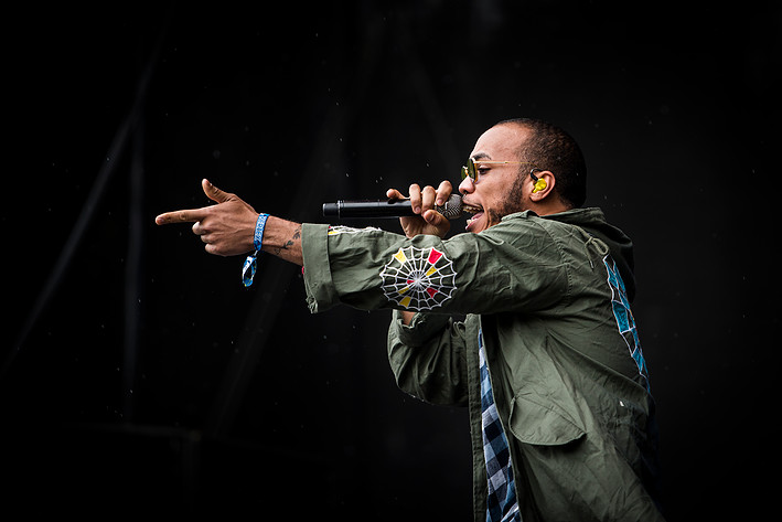 2016-08-12 - Anderson .Paak & The Free Nationals spelar på Way Out West, Göteborg