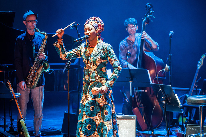2016-10-07 - Fatoumata Diawara & Stockholm Art Orchestra performs at Stockholm Jazz Festival, Stockholm
