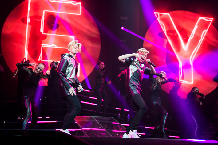 2017-02-11 - Marcus & Martinus performs at Globen, Stockholm
